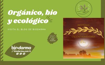 Galletas y magdalenas orgánicas, bio y ecológicas