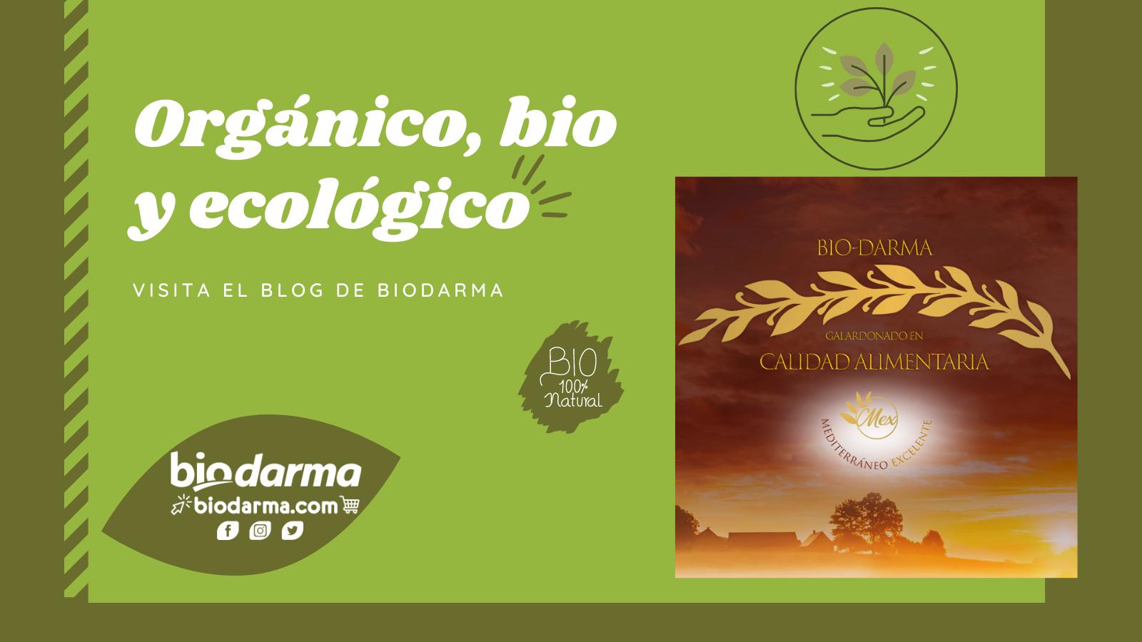 Galletas y magdalenas biodarma orgánicas, bio y ecológicas