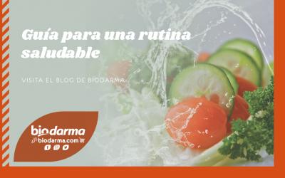 Guía para una rutina saludable con biodarma